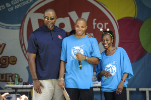 Chris Doleman, Gail Devers, DJ Reec