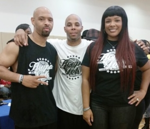 Kiwanne Garris, REEC, Syleena Johnson At Hoopin For Tots