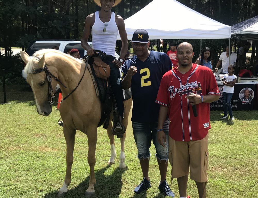 Reec Brings out BBQ, Dunk Tanks and Horses! Reec Treats The City Recap