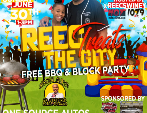 Free BBQ & Block Party! Food – Game Trucks – Bounce Houses & More! #ReecTreatsTheCity