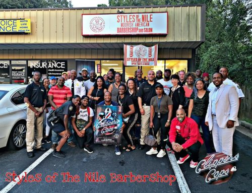 Kids Received Free Hair Cuts & Supplies At Recent Clippers & Cops Event!