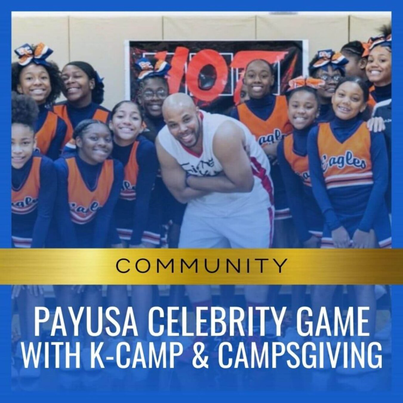 PayUSA CELEBRITY game with K-camp & Campsgiving
