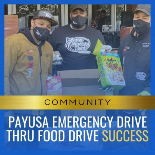 PayUSA Emergency Drive Thru Food Drive Success