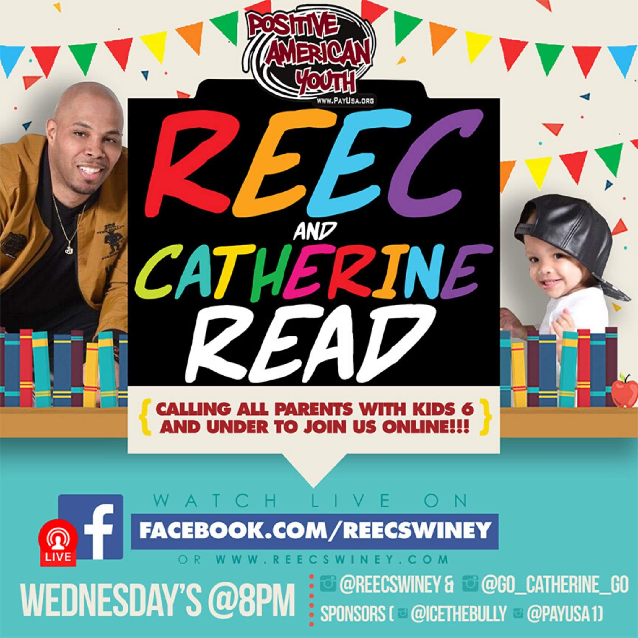 Reec and Catherine Read web graphic